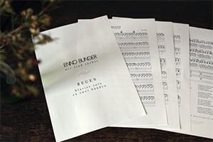 "Kostenlose Klaviernoten ""Regen"""
